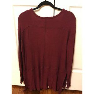 FREE PEOPLE Sweaters - FREE PEOPLE Cotton Knit Top